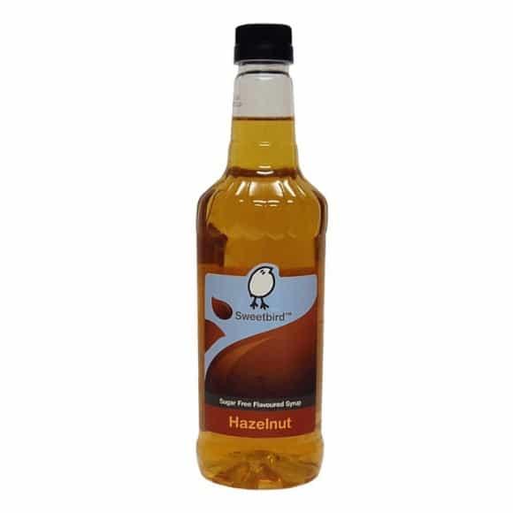 Sirop Noisette SANS SUCRES bouteille PET 1L
