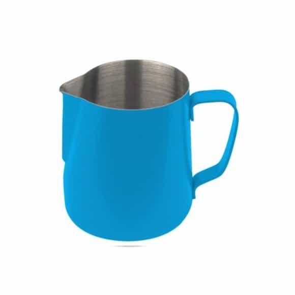 Pot à lait inox exterieur Téflon Bleu 12oz-350ml
