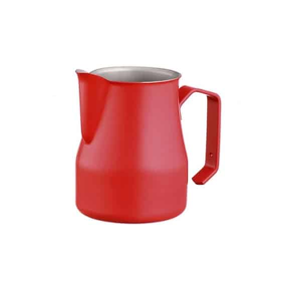 Europa Pot à lait rouge Inox 25oz-750ml