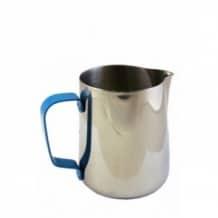 Pot à lait Inox poignée Bleue 12oz-350ml