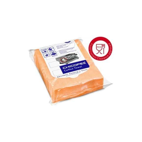 Lavettes COFFEE TOWEL réutilisables x 10 Orange