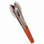 Pince de service inox manche rouge 290mm