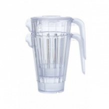 Pichet Empilable Plastique transparent 1,5L