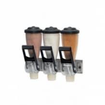 Distributeur de produits secs Triple 3 x 2L