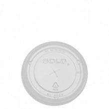 Sachet x 100 couvercles plat à croisillons 12oz/355ml