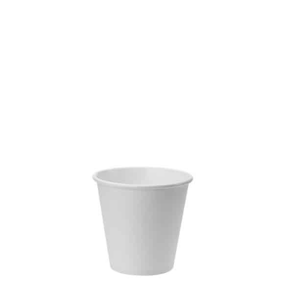 Sachet x 50 gobelets carton Blanc 6oz/177ml
