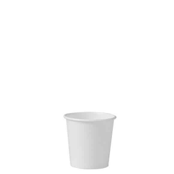 Sachet x 50 gobelets carton Blanc 4oz/120ml
