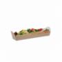 Barquettes kraft pour Sandwich Baguette x 500