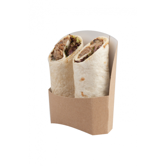 Etuis kraft pour Wrap Tortilla Double x 1000
