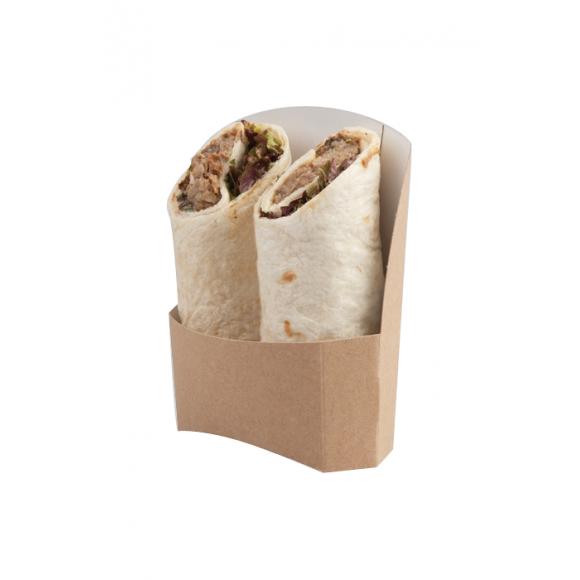 Etuis kraft pour Wrap Tortilla Double x 1000