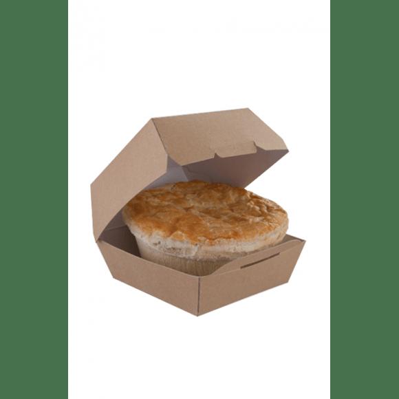 Boîte Fast Food kraft pour Bagel et Burger x 250