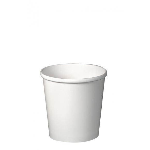 Sachet x 25 pots à soupe carton Blanc 8oz/237ml