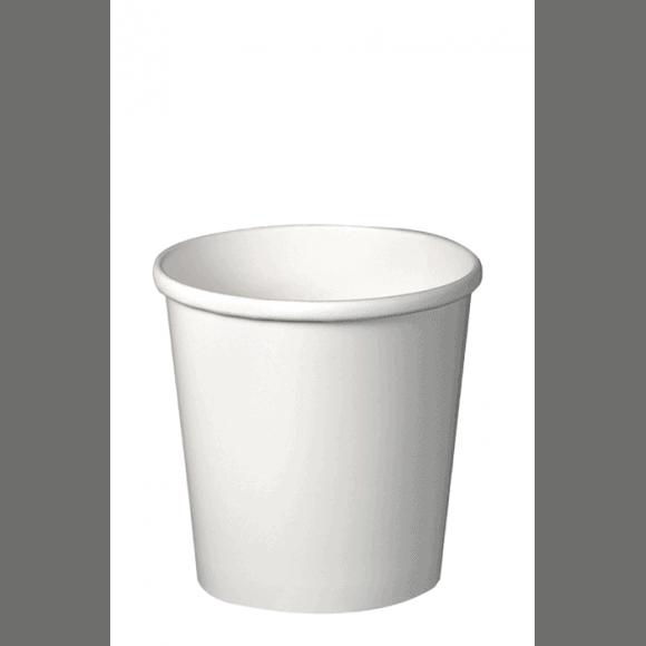 Sachet x 25 pots à soupe carton Blanc 12oz/355ml