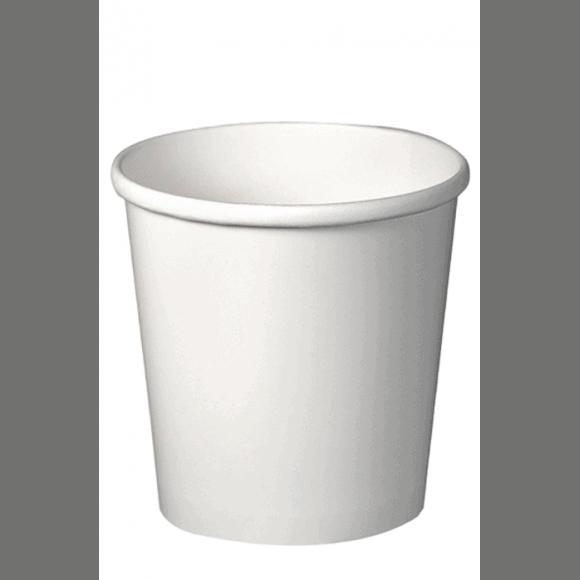 Sachet x 25 pots à soupe carton Blanc 473ml/16oz