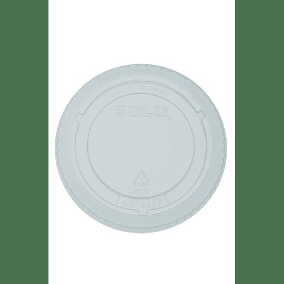 Sachet x 50 couvercles plastique pour pots à soupe 8oz/237ml - 12oz/355ml
