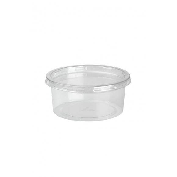 DELILITE Pots rPET + Couvercle 7,6oz/217ml x 500