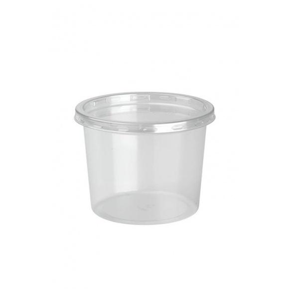 DELILITE Pots rPET + Couvercle 9,8oz/279ml x 500
