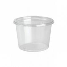 DELILITE Pots rPET + Couvercle 24,6oz/700ml x 300