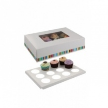 Boîte pour 12 cupcakes