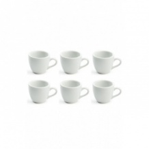 Set x 6 DEMI TASSE tasse porcelaine Blanc 70ml