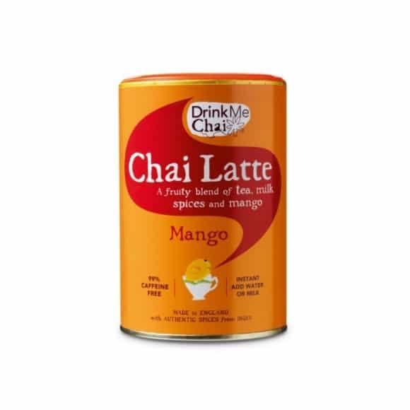 Chai Latte Mango en poudre boîte 6 x 250g