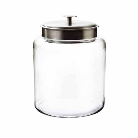 MONTANA Jarre en verre Couvercle métal 9,4L