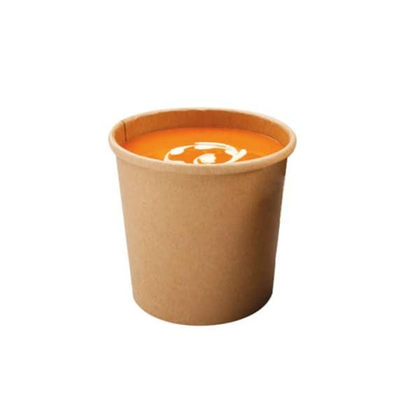 Pots à soupe kraft 12oz/355ml x 500