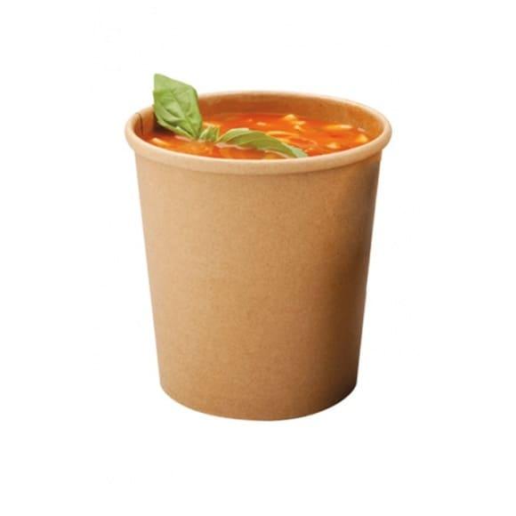 Pots à soupe kraft 16oz/473ml Ø97 mm x 500