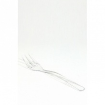Sachet x 50 Mini Fourchettes plastique cristal L.100mm