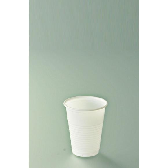 Gobelet jetable plastique blanc 200ml x 3000