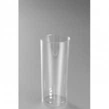 Sachet x 10 verres LONG DRINK plastique cristal 300ml