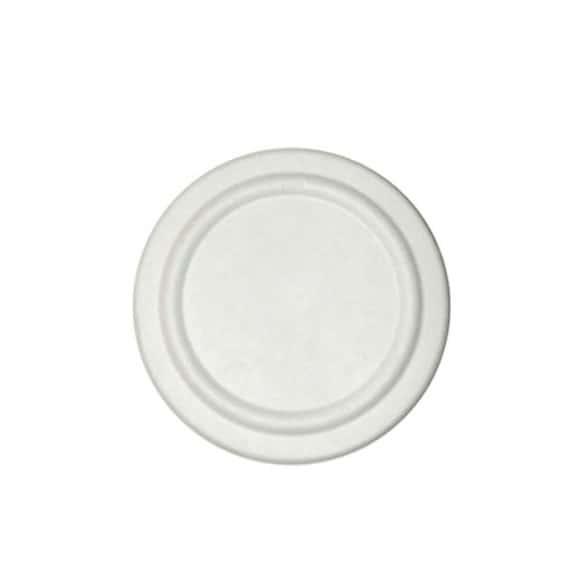 Sachet x 50 couvercles pulpe de canne pots à soupe 12oz/355ml et 16oz/473ml