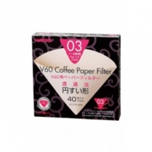 Lot de 10 boîtes x 40 Filtres papier naturel 1-6 tasses