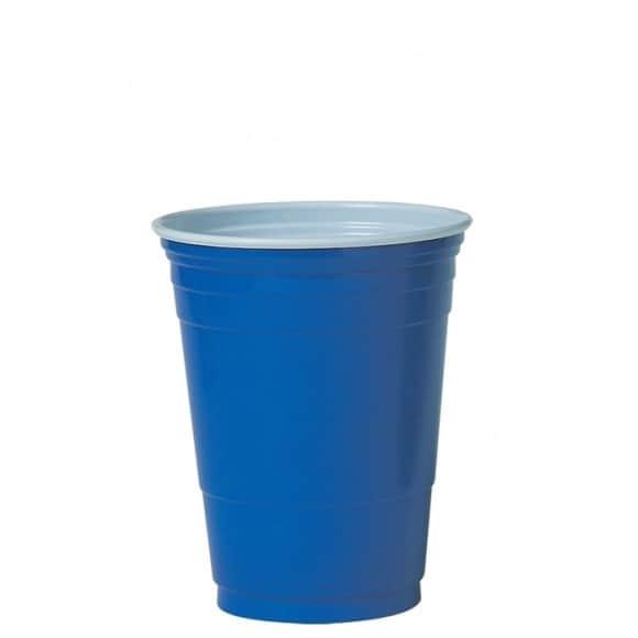 Lot de 20 x 50 gobelets BLUE PET 16oz/455ml