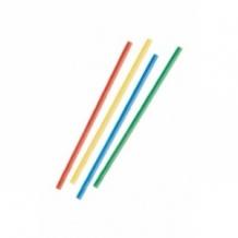 Lot de 15 x 540 Pailles droites Multicolores D.8 mm