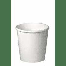 Lot de 20 sachets x 25 pots à soupe carton Blanc 12oz/355ml