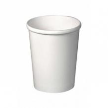 Lot de 20 sachets x 25 pots à soupe carton Blanc 26oz/769ml