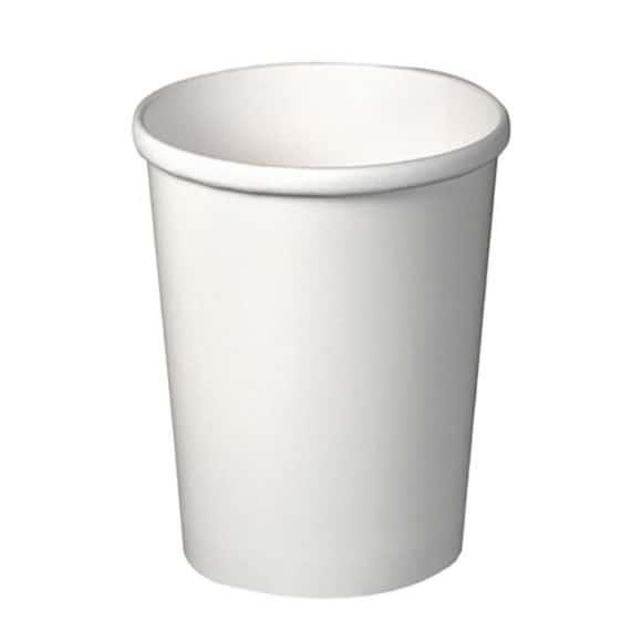 Lot de 20 sachets x 25 pots à soupe carton Blanc 32oz/946ml