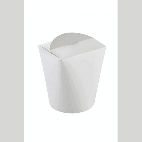Lot de 10 sachets x 50 boîtes multi food Tube carton blanc 25,4oz/750ml