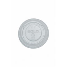 Lot de 25 x 100 couvercles plats sans trou 1.50-2oz/44-59ml
