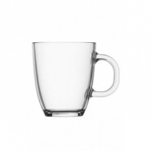 Lot de 6 BISTRO Mug en verre 10oz/300ml