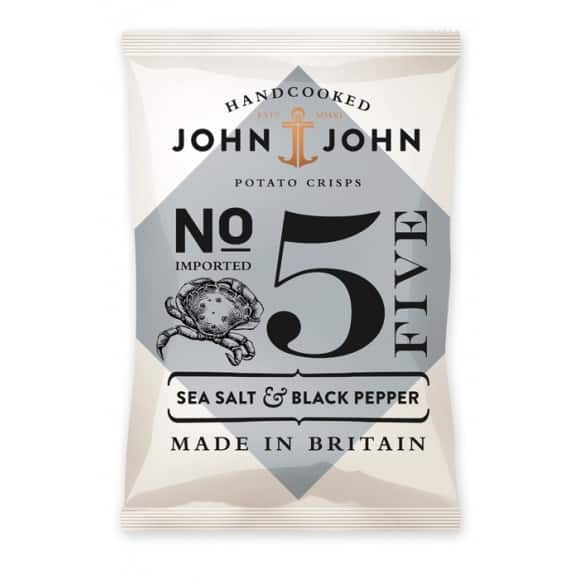 Chips N°5 Sel de mer et Poivre Noir 24 x 40g
