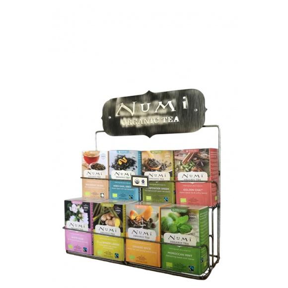 Présentoir pour 8 boîtes Numi tea