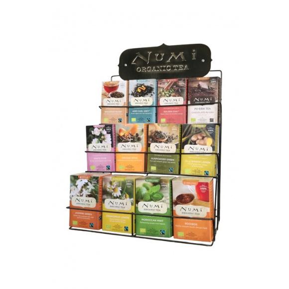 Présentoir pour 12 boîtes Numi tea