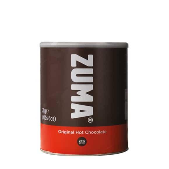 Lot de 4 Chocolats en poudre traditionnel boîte 2kg
