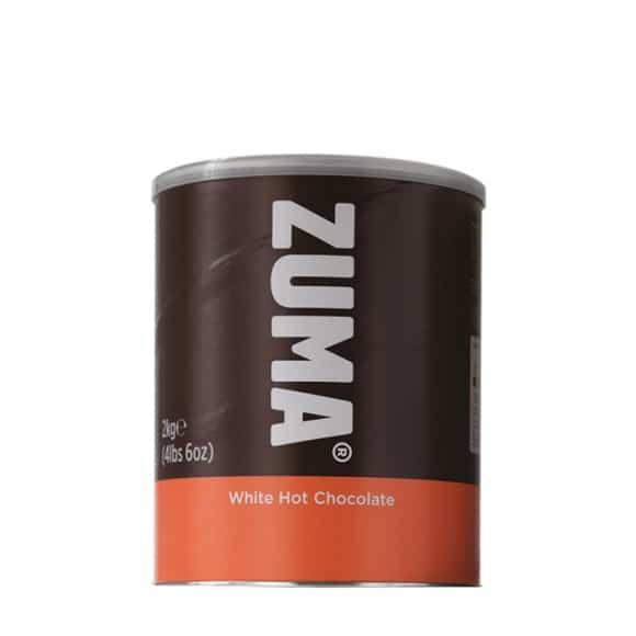 Lot de 2 Chocolats en poudre Chocolat Blanc boîte 2kg