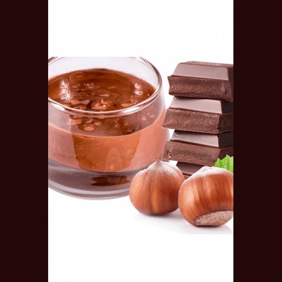 Sauce chocolat au lait avec morceaux de noisettes 3kg
