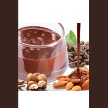 Sauce chocolat Café avec morceaux de noix 6kg