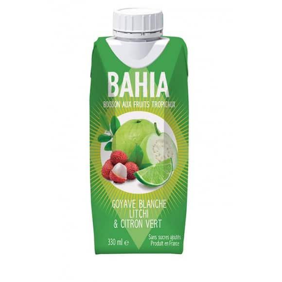 BAHIA - GOYAVE BLANCHE LITCHI CITRON VERT 330ML x12