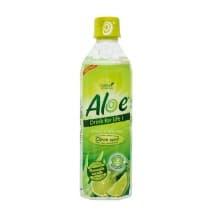 Boisson à la pulpe et au jus d'Aloe Vera et Citron vert bouteille PET 12 x 500ml